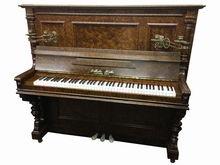 WILHELMドイツ製のアンティークピアノ